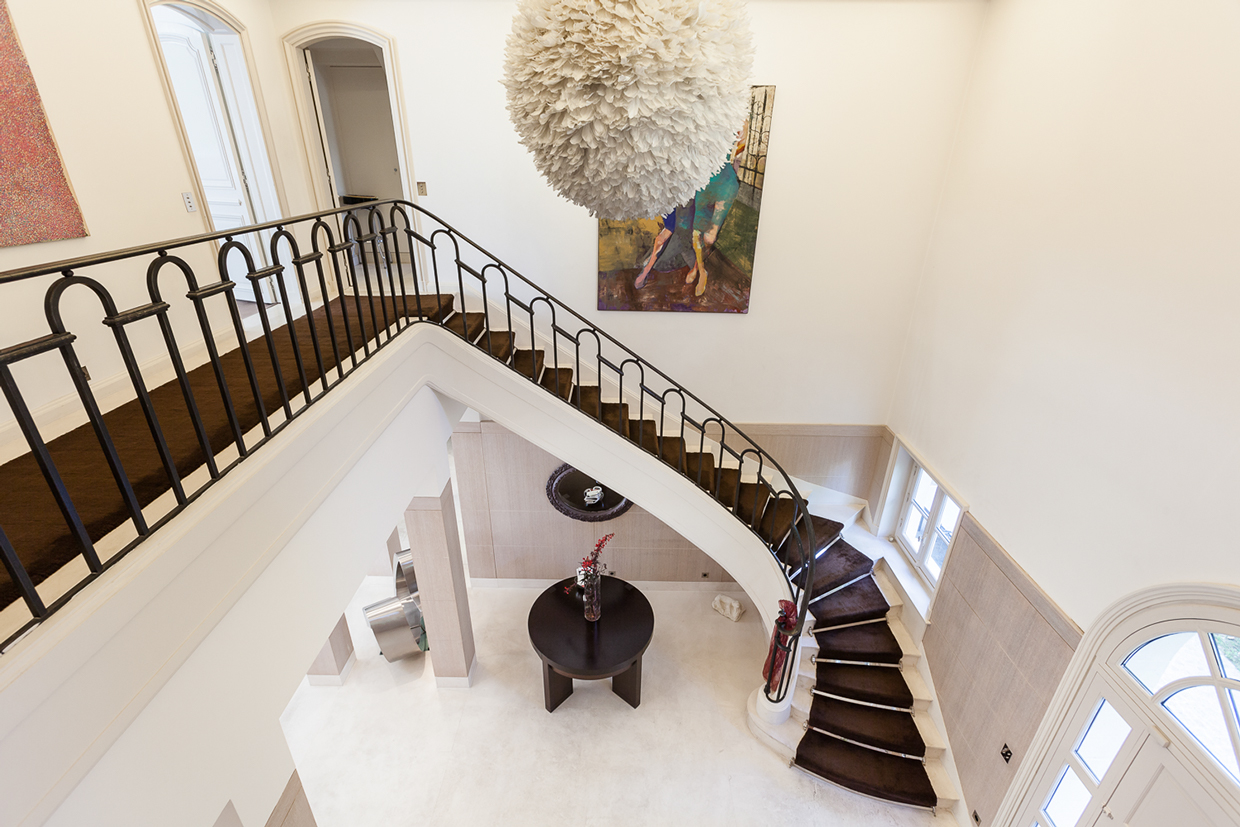 Grand staircase and foyer
