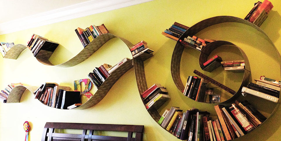 bookshelf ideas by brianna kufa