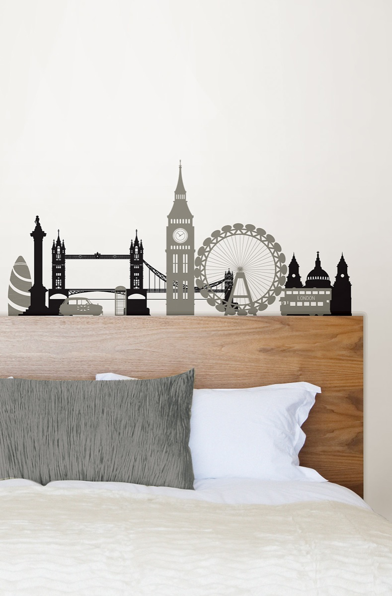 london wall decal