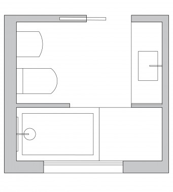 Bathroom Layout. Small Bathroom Layout Ideas From an Architect to Optimize Space
