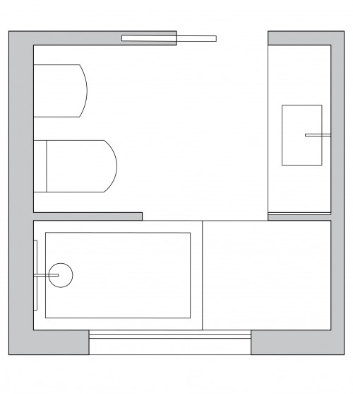 bathroom plan design