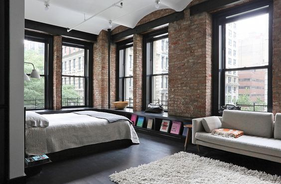 6 important considerations about loft living space and for Idee deco loft new yorkais