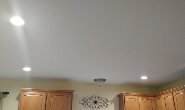 led downlights in kitchen