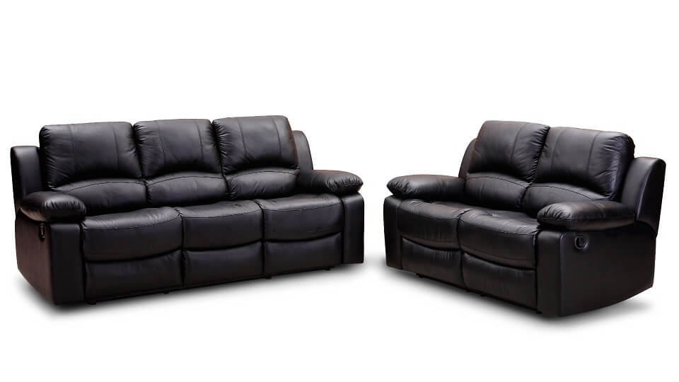 Semi-Aniline leather furniture